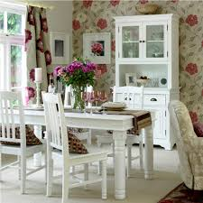 white homemade table for french country dining room ideas with