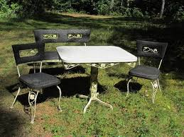 How To Restore Metal Outdoor Furniture by How To Restore A Formica Table Top Ebay