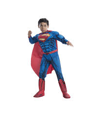 Youth Boys Halloween Costumes Dc Comics 52 Superman Boys Costume Superhero Costume