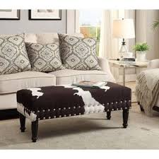 Best  Cowhide Bench Ideas On Pinterest Rustic Western Decor - Cowhide bedroom furniture