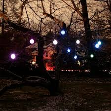 outdoor lighted decorations garland 17 amazing outdoor