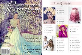 wedding planner magazine featured wedding planner magazine brit justin