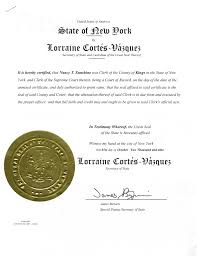 birth certificate correction sample letter same day nys apostille nyc apostille manhattan apostille usa samples of actual apostilles or certificates of authentication