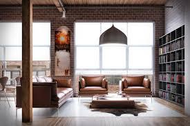 Loft Interior Dn Ar Loft Interior Lounge Area Render
