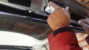 mercedes trunk actuator lock replacement diy how to fix car door