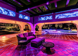 Extreme Backyard Design by Extreme Lighting Control System Shines In This Winning Backyard