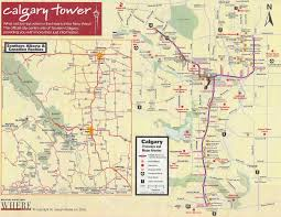 large calgary maps for free download and print high resolution