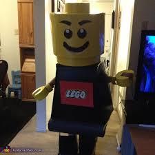 Boys Lego Halloween Costume Lego Man Diy Halloween Costume