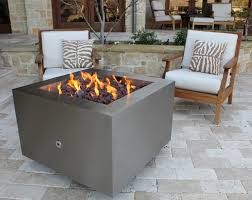 Fire Pit With Glass by Stainless Steel Fire Pit Gas Fire Pits Hidden Tank Fire Pits