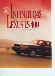 vwvortex com the archive lexus ls400 vs infiniti q45