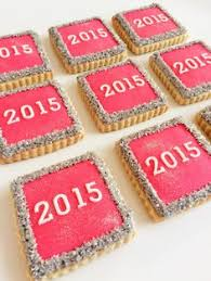 New Year Decorated Cookies by Countdown Cookie Sticks For New Year U0027s And More Treats From The