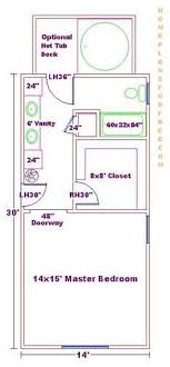 master bedroom floor plans with bathroom 13x9 master bathroom images master bedroom bath
