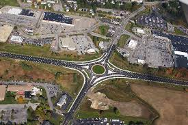 roundabouts highway design nh department transportation