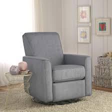 Rocking Chair For Nursery 54 Gray Recliner Glider Appealing Zoey Grey Nursery Swivel Glider