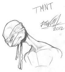 teenage mutant ninja turtles sketch by trevm on deviantart