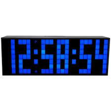 le bureau led ch kosda big led numérique horloge compte à rebours minuterie réveil