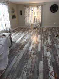 Gray Laminate Wood Flooring Was Going To Go For The Safe Look And Choose A Distressed Grey