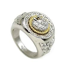 cool rings images Bg style lion head rings cool rings for men rings for men men 39 s jpg