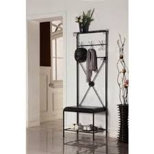 buy inroom designs coat hanger and shoe rack in cheap price on
