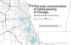 chicago housing projects map where are chicago s poor white neighborhoods wbez
