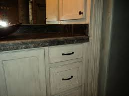 Distressed Kitchen Cabinets Distressed White Shaker Kitchen Cabinets Home Design Ideas