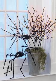 Lighted Branch Tree Raz Ghastly Graveyard Lighted Branches Centerpiece Trendy Tree