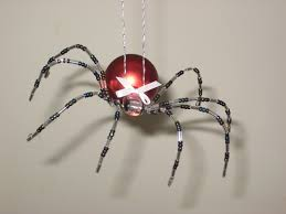 spider ornament sweeping