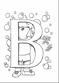 remarkable letter coloring page printable pages with letter b