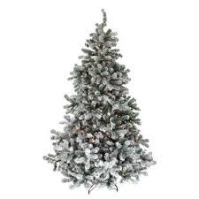 lightly flocked christmas tree pre lit flocked christmas tree wayfair