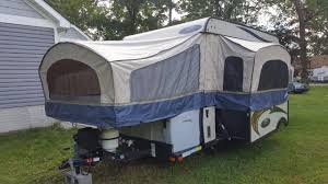 travel trailer with garage pop up camper rvs campers u0026amp motorhomes for sale rvtrader com