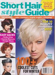 short hair style guide magazine short hair style guide magazine winter 2016 amazon com books