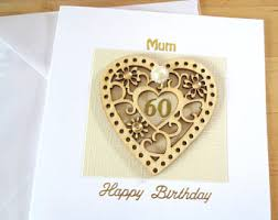 60th birthday card etsy