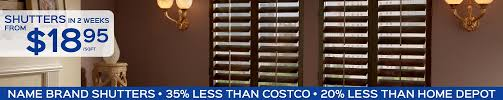 Value Blinds And Shutters Orange County Shutters And Blinds Shutter Nation