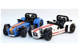lego range rover simplify then add bricks caterham seven gets a lego kit motor