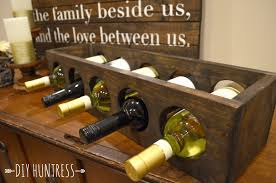 diy diy wood wine rack small home decoration ideas excellent on