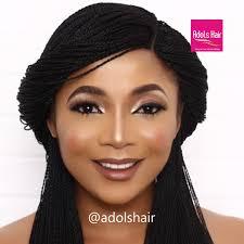 naigerian actresses hairstyles adols hair nollywood actress chelsea eze and temitope olowoniyan