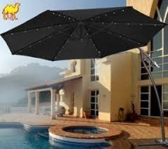Patio Umbrella Led Lights by Cantilever Patio Umbrellas Foter