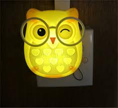 bedrooms cartoon cute owl night font b light b font led animal