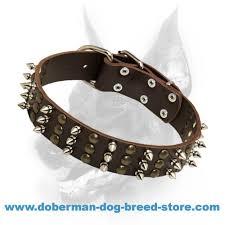 Comfortable Dog Collars Doberman Spiked U0026 Studded Dog Collar Multifunctional Training