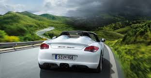 porsche boxster rear 2011 porsche boxster spyder wallpapers
