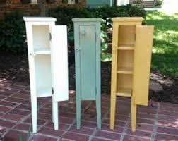 Storage Cabinet For Bathroom by Bathroom Storage Etsy