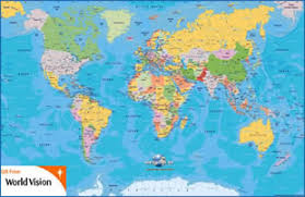 free world maps world map free from world vision