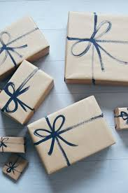 where the things are wrapping paper brown paper packages with painted on string cakies brown paper