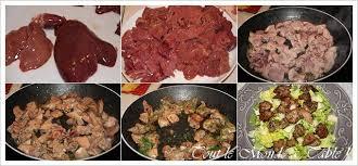 cuisiner foie de volaille salade aux foies de volailles tout le monde à table