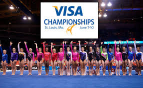 Desert Lights Gymnastics Usa Gymnastics Gymnastics Stars Ready For 2012 Visa Championships