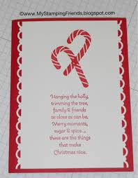 my stamping friends candy cane christmas card using scentsational