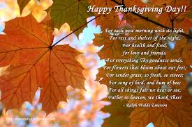 happy thanksgiving day ralph waldo emerson