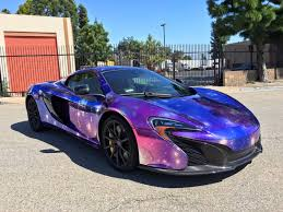 wrapped r8 mclaren 650s spider wrapped in galaxy chrome gtspirit