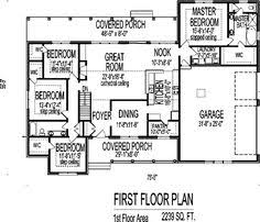 one level house plans with open floor plan top notch living on