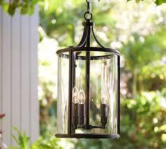 Exterior Pendant Light Belden Indoor Outdoor Pendant Pottery Barn